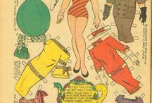 paper doll assortment / by joyce barber