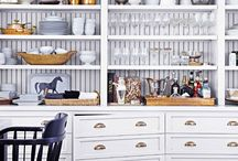 Built Ins and cabinetry / by Angela Raciti