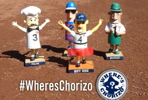 Where's Chorizo? / On Sunday, May 13, the Chorizo, one of the five Brewers Klement's Famous Racing Sausages, went missing. Turns out he was planning a scavenger hunt for fans, which took place in the early morning hours of Tuesday, May 15. Upload your photos to Pinterest with the #WheresChorizo hashtag to be added to the board! / by Milwaukee Brewers