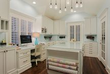 Mom Cave-office-craft room / by Michelle Brady