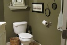MY NEW SHADE FOR MY POWDER ROOM. / by Lisa Stephens