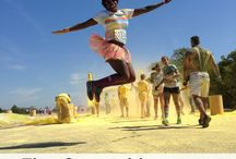 Oct color run!!  / by Chasity Moody