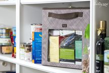 The Perfect Pantry! / Think big. Start small. Start with the essentials...then organize it all! / by Thirty-One Gifts