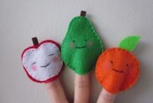 Finger & Hand Puppets / by Natalia Babilon