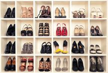 shoe closet / by Amanda McDonald