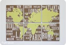 Map love / by Kim Stewart