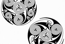Celtic patterns / Free Celtic vector patterns collection. / by Craftsmanspace Jan