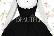 Gothic Lolita FASHIONS / GOTHIC Dresses / by Bobbie Babbette SissyMaid