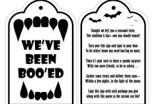 Halloween Printables / Over the years I've designed many labels and games for my kids' Halloween props and parties. Seems a shame to keep the work to myself. Help yourself. (I've mixed in a few others' print designs that inspire me too.) / by Carrie Royce
