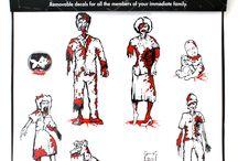 zombies and mummies / by Bonnie Gantz
