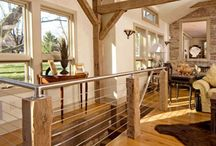 Restored Old Barns - Stairwells / by Old Barns