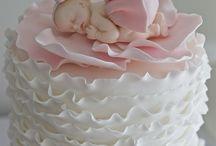 CAKES- BABY SHOWER, GENDER REVEAL / by Lisa Jones Czarnik