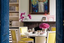 ...Dining Rooms: Color / by Sandra Smith