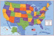 50 United States   / by Paula Craft Dye