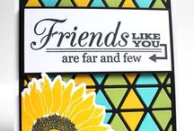 Cards--Friends / by Gail Kunkle