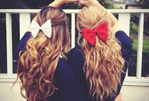 I love bows!!! / by Ruthy Esquivel