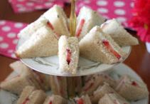 Tea sandwiches / by Debbie Prostka