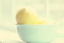 Lemon Love / Soft, fresh lemon hues = JOY! / by Lisa Humphries