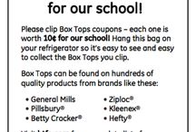 Box Tops for Education / by Becky Hayes