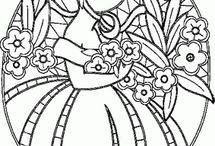 Richelieu, cutwork, bordado inglês, madeira / Embroidery, broderie / by Olga Watanabe