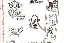 I-con draw! I-con Doodle! / icon library for graphic facilitation and coaching! / by Lydia Mattison