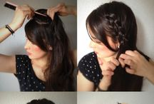Beauty-Hair Styles / by Xina Oxford