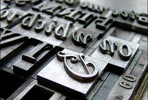 Letterpress-Signs-Typography / by Joyce E. Williams