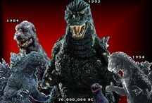 Godzilla my favorite Lizard!! / My First hero  or favorite movie personalty  / by Chris Matheson