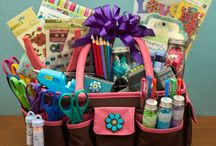 gift baskets / by Lisa Cox