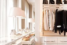 Master closet / by Laura Neil