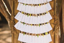 escort cards / by Verge Events