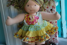 dolls / by Cathie Robson
