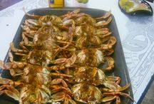 Seafood Recipes / My own recipes and locally caught FRESH North Carolina Seafood / by Sharon Peele Kennedy