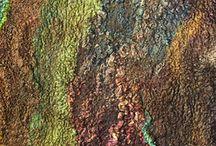 felt fibre and textile / Felt Wool Textile etc / by Ann Duignan