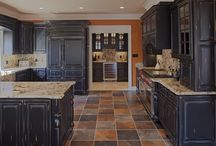 Milk Painted Kitchens / by The Ironstone Nest