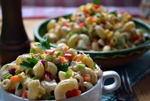 Favorite Salads (Side Dishes)! / Side Dish Salads I would like to try! / by Sherri Lanham