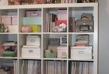 Organizing and Storage Ideas / by Cheryl Rathburn