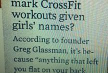 Committed to Crossfit  / by Alex Elizabeth
