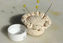 crochet / knit BAZAAR N STASH BUSTERS   / by Marie Sacco