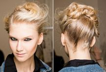 curls. cuts. updos.  / by Erika Hackmann