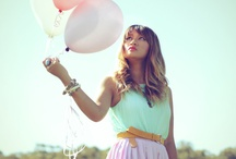 Pretty Pastels / by Holly Featherstone