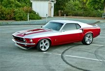 Automobiles - Mustang / by David James