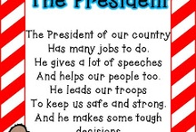 President's Day / by Paula Carpenter