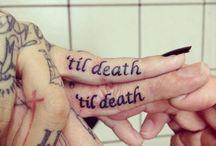 tattoos / by Jordan Hall