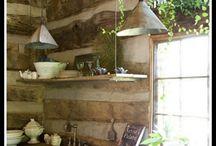 Cabin Ideas / by Melissa Riewer