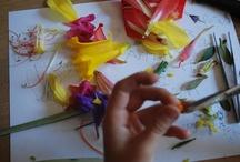 school/spring flowers and gardening / by Mindy Kowieski Kerr