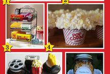 Movie Party Ideas / by A to Zebra Celebrations ~ Nancy ~