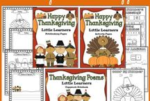 Thanksgiving Reading Resources and Activities / by Comprehension Connection