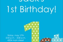Birthday ideas / by Brinda Perry