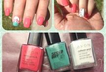 Nails / Nail ideas / by Sandy Edmison's AVON aka Edmison Enterprises